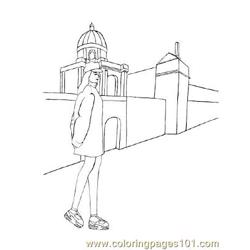 Fashion111 Free Coloring Page for Kids