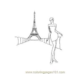 Fashion113 Free Coloring Page for Kids