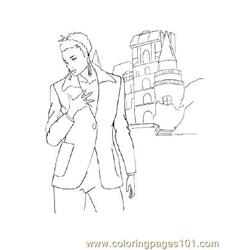 Fashion116 Free Coloring Page for Kids