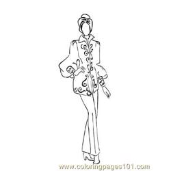 Fashion118 Free Coloring Page for Kids