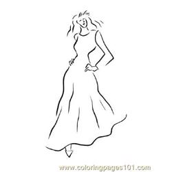 Fashion140 Free Coloring Page for Kids
