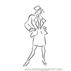 Fashion148 Free Coloring Page for Kids