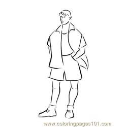 Fashion154 coloring page