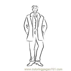 Fashion155 coloring page