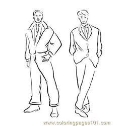 Fashion156 coloring page