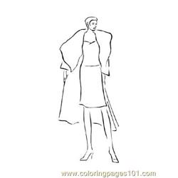 Fashion168 coloring page