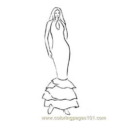 Fashion179 coloring page