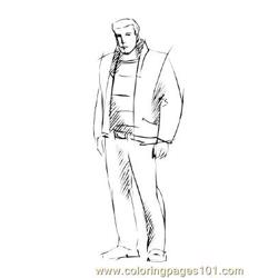 Fashion187 coloring page