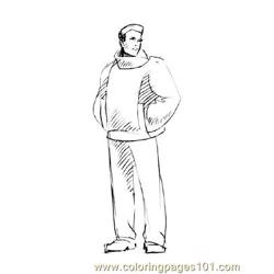 Fashion190 coloring page