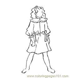 Fashion223 Free Coloring Page for Kids