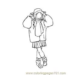 Fashion224 Free Coloring Page for Kids
