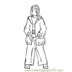 Fashion225 Free Coloring Page for Kids