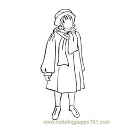 Fashion226 Free Coloring Page for Kids