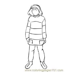 Fashion227 Free Coloring Page for Kids