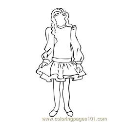 Fashion228 Free Coloring Page for Kids