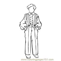 Fashion229 Free Coloring Page for Kids