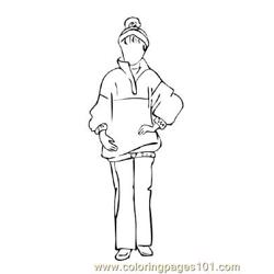 Fashion230 Free Coloring Page for Kids