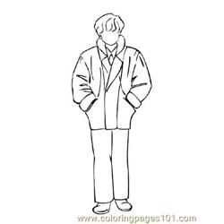 Fashion232 Free Coloring Page for Kids