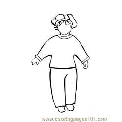 Fashion233 Free Coloring Page for Kids