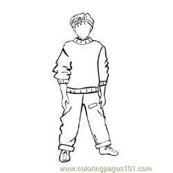 Fashion235 Free Coloring Page for Kids