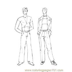 Fashion71 Free Coloring Page for Kids