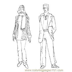 Fashion72 Free Coloring Page for Kids
