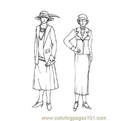 Fashion73 Free Coloring Page for Kids