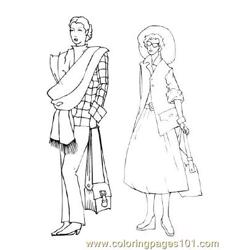 Fashion74 Free Coloring Page for Kids