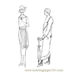 Fashion77 Free Coloring Page for Kids