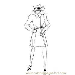 Fashion79 Free Coloring Page for Kids