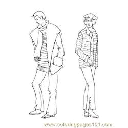 Fashion82 Free Coloring Page for Kids