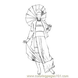 Fashion85 Free Coloring Page for Kids