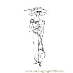 Fashion86 Free Coloring Page for Kids