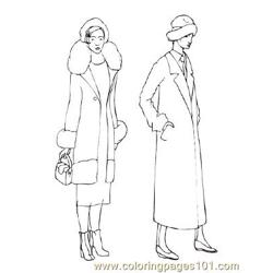 Fashion87 Free Coloring Page for Kids