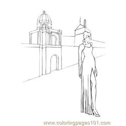 Fashion91 Free Coloring Page for Kids