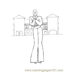Fashion92 Free Coloring Page for Kids