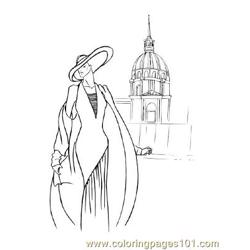 Fashion93 Free Coloring Page for Kids