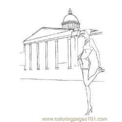 Fashion94 Free Coloring Page for Kids