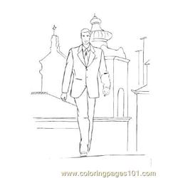Fashion96 Free Coloring Page for Kids