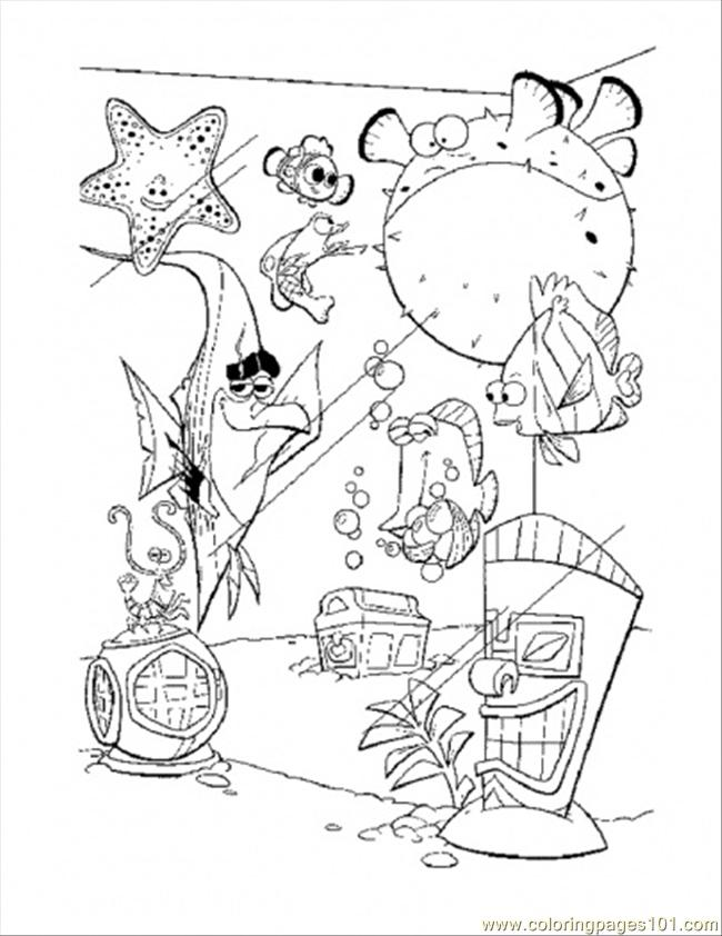 In Tank Coloring Page