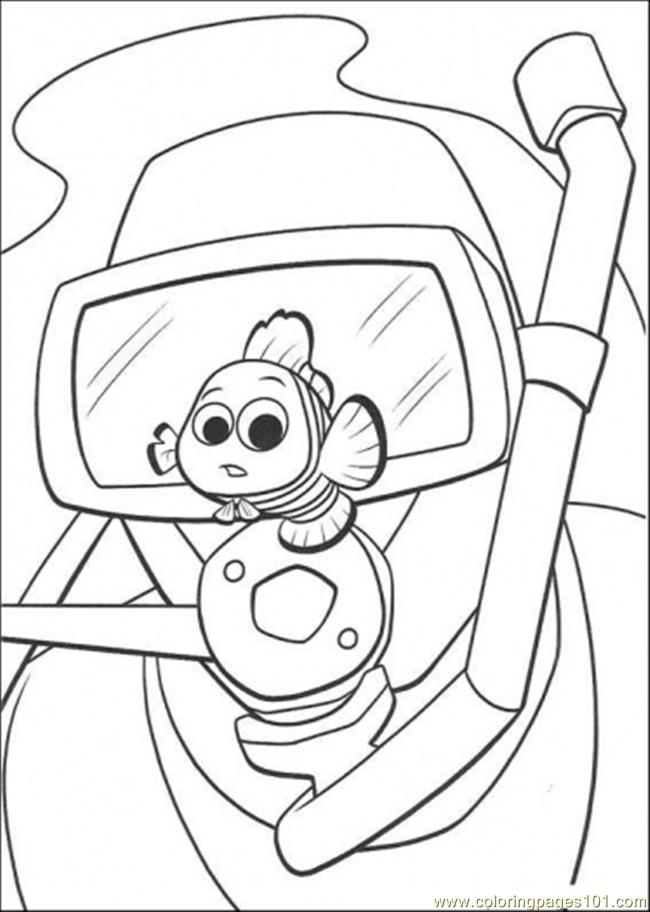 - Look At Nemo Coloring Page - Free Finding Nemo Coloring Pages :  ColoringPages101.com