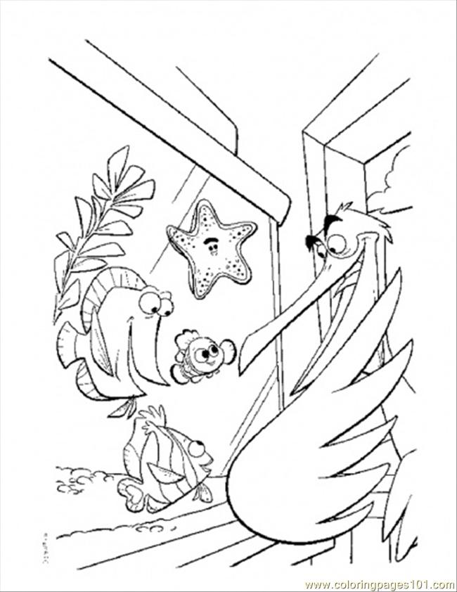 Nigel And Nemo Coloring Page