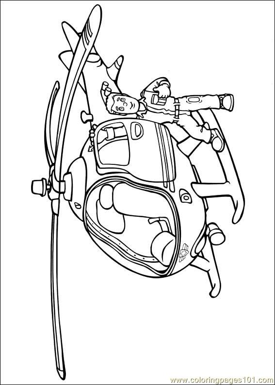 Fireman Sam 17 Coloring Page Free Fireman Sam Coloring Pages