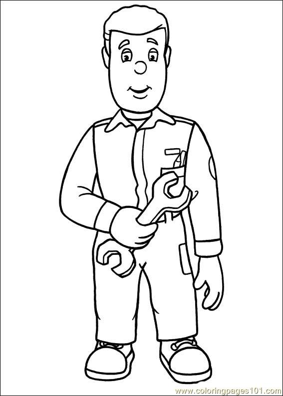 fireman sam 18 coloring page free fireman sam coloring pages