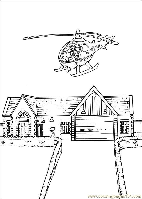 Fireman Sam 28 Coloring Page Free Fireman Sam Coloring Pages