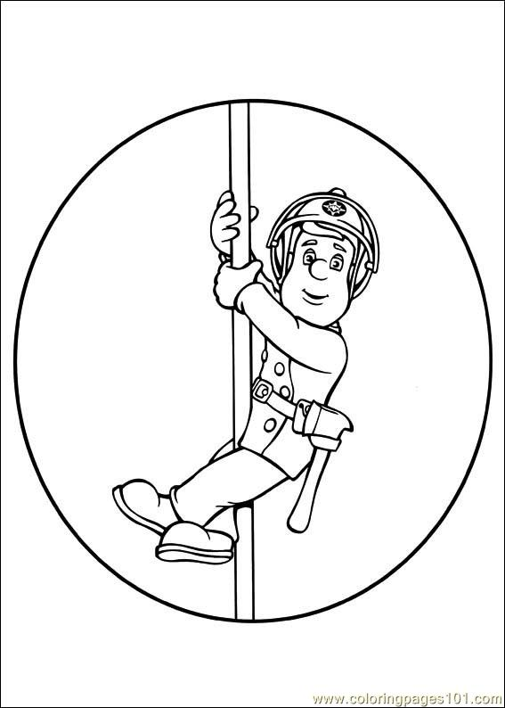 fireman sam 29 coloring page free fireman sam coloring pages