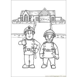 lego ghostbusters firehouse coloring pages   Fireman Sam Coloring Pages