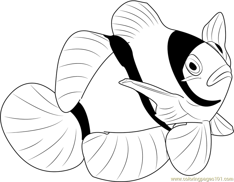 Worksheet. Other Fish Coloring Pages  Printable Coloring Pages of Other Fishes