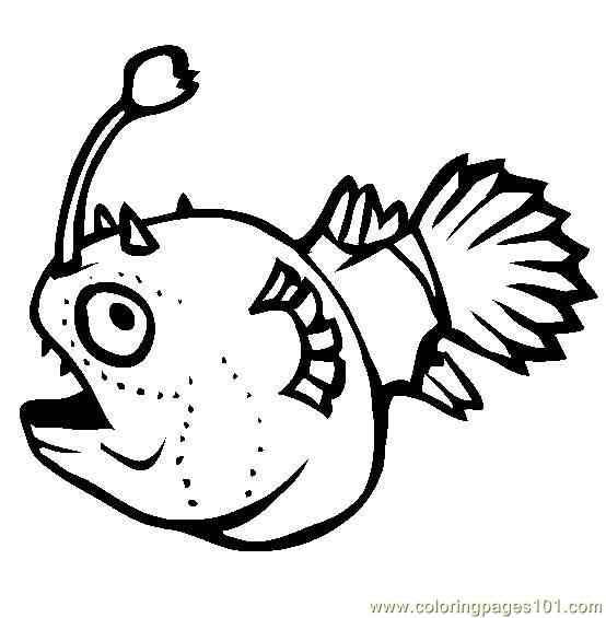 football fish coloring page free other fish coloring pages