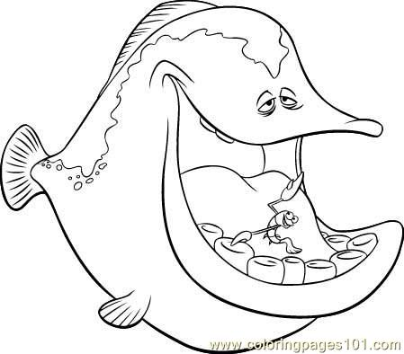 Nemo Fish Coloring Page Free Other Fish Coloring Pages